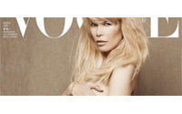 Pregnant Claudia Schiffer, naked, to grace German Vogue