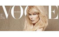 Claudia Schiffer Desnuda Y Embarazada Para Vogue Noticias