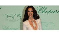 Eugenia Silva brilla en la fiesta de Chopard