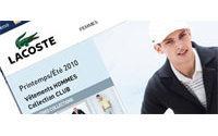 Lacoste lancia il suo sito di e-commerce europeo
