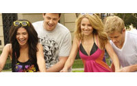 Las estrellas de Crepúsculo, Glee y Gossip Girl reunidas para la marca de moda OP