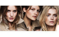 Burberry launches cosmetics line