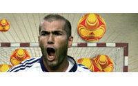 Zinedine Zidane represents Adidas' new  body care range