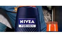 NIVEA продвигает косметику для юношей