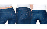 Levi jeans focus on women's shapes, not size