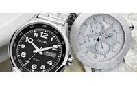 Fossil's profit triples&#x3B; shares up 8%