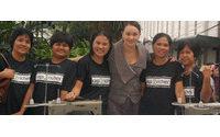 Un proyecto juvenil que ayuda a mujeres filipinas a ganar un salario con el reciclado, premiado por Rolex