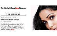 NY Times appoints new senior fashion editor