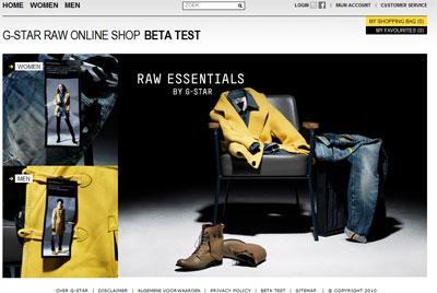 G star testa la vendita on line notizie people 120980 for Produttore di blueprint virtuale