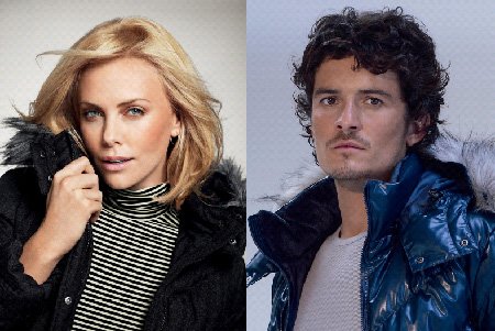 Charlize Theron, Orlando Bloom, Uniqlo