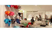 American Apparel opens at La Défense