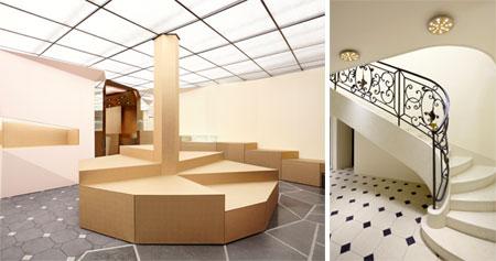 6f8a56b2a34f Balenciaga makes over its futuristic flagship store - News   Retail ...