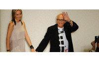 Azria da su toque más chic a la primavera en la Fashion Week de Nueva York