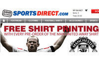 Sports Direct's sales get World Cup lift