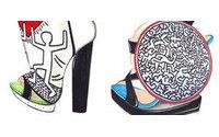 Nicholas Kirkwood faz calçados inspirados em Keith Haring