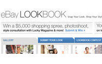 eBay fashion launches digital lookbook