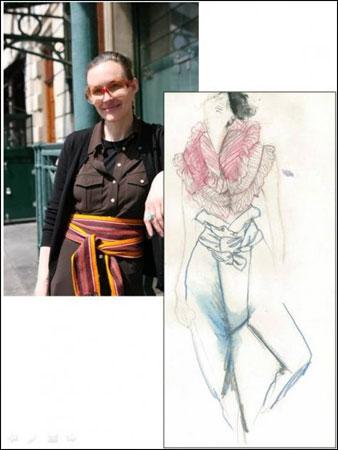 Fashion Fringe, Corrie Nielsen
