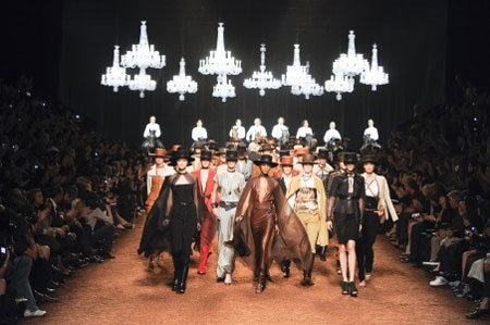 Jean-Paul Gaultier, Elie Saab, Hermès