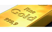 Gold firms as dollar slips versus currency basket