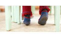 Un estudio revela que el calzado de los niños aumenta seis números en los años de Primaria