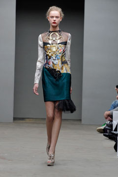 Swiss Textiles Award, Mary Katrantzou