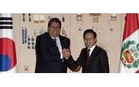 Perú y Corea del Sur firman el TLC