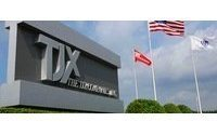 TJX sees holiday sales down from strong year ago