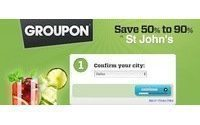 Groupon subscribers jump to 115 mln