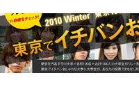「東京10大学対抗おしゃれリレー」がスタート 上位3名はパリコレ招待