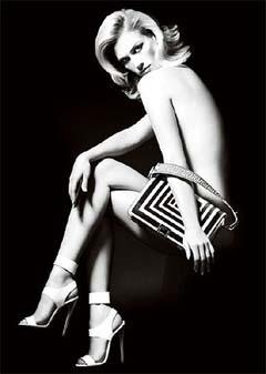 January Jones, Versace