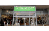 Laura Ashley defies winter gloom, shares jump