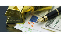 Gold rises 1 percent on euro woes, tensions in Korea