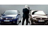 Karl Lagerfeld Volkswagen reklamlarının yıldızı oldu