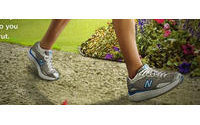 Lawsuit accuses New Balance of false walking shoe ads