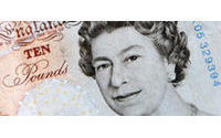 Sterling steady but set for further gains vs euro