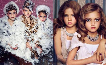 Las imágenes fueron realizadas por el famoso fotógrafo Sharif Hamza y  muestran a las menores en actitud demasiado sensual, excesivamente  maquilladas y ... 0881ea3b62
