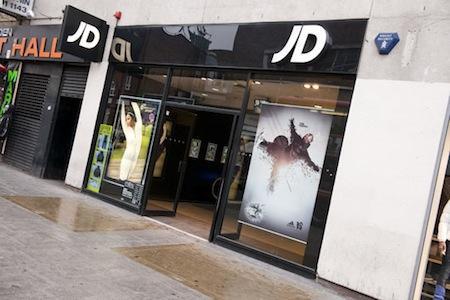 JJB, JD Sports