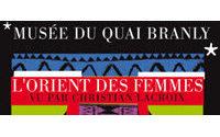 Christian Lacroix fait jaillir les couleurs du Proche-Orient au musée Branly