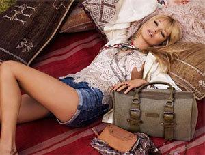 Kate Moss, Longchamp