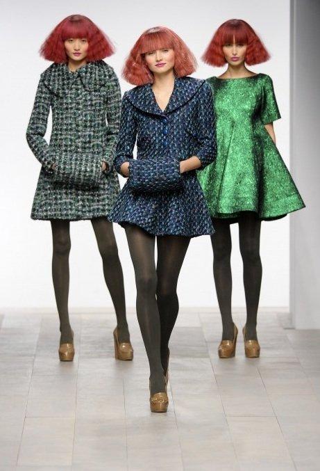 Kate Mania Pervades London Fashion Week Kick Off News Catwalks 510723