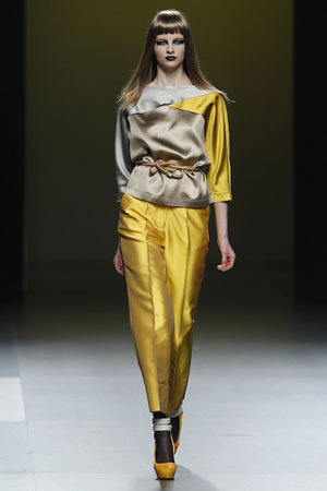 Cibeles Madrid Fashion Week, Ana Locking