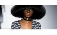 Royal designer rocks London fashion week