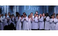Große Gefühle bei letzter Galliano-Schau für Dior