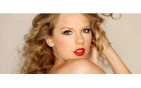 Los labios rojos de Taylor Swift