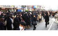 Japonya: endişeli iş adamları harekete geçti