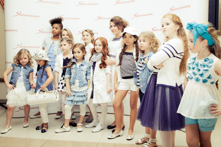 GF Ferré, Ermanno Scervino, Laura Biagiotti, Junior Gaultier, Miss Blumarine, Christian Dior, Miss Grant, Monnalisa, Aletta, Tegin