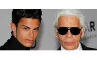 Baptiste Giabiconi, más que el heredero de Karl Lagerfeld, su 'muso'