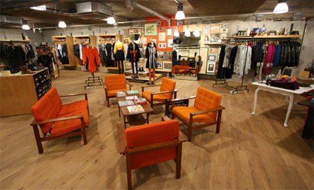 Urban Outfitters Sees Sales Slip So Far This Year,164308 on Urban Outfitter Retail Store Interior Design
