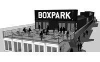 The world's first pop-up mall : BoxPark