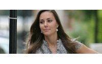 Kate Middleton models (involuntarily) for Diesel